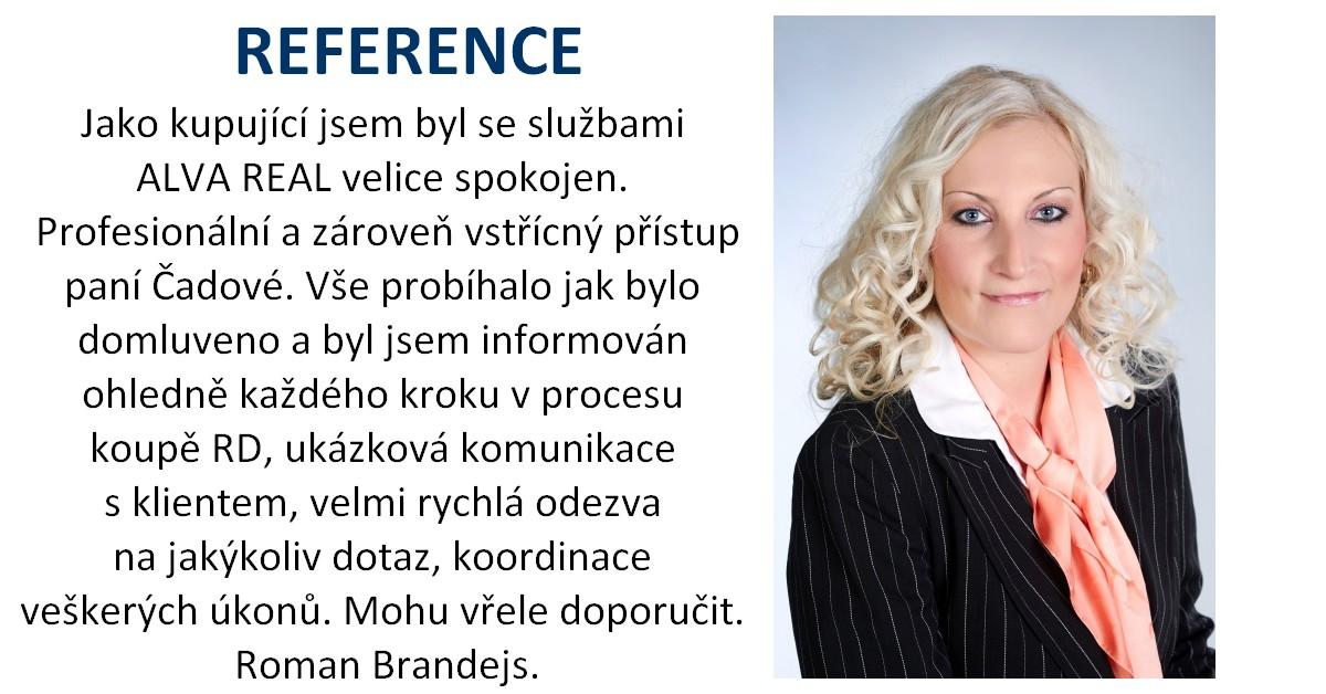 Sylva Čadová - realitní makléř ALVA REAL